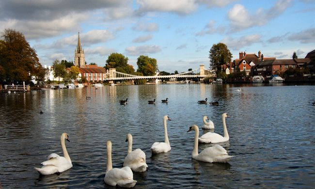 Bed and breakfast in Marlow town centre near the River Thames